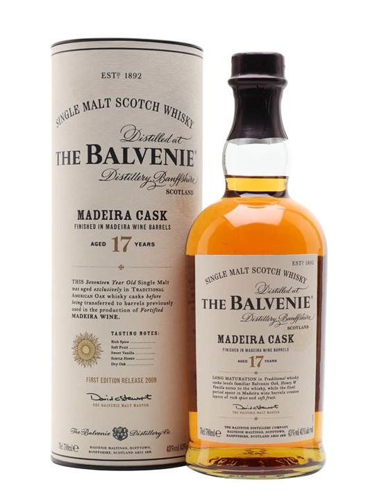 Balvenie 17 Year Old / Madeira Cask Speyside Single Malt Scotch Whisky
