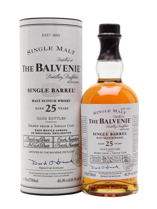 Balvenie 1974 / 25 Year Old / Cask #1463 Speyside Whisky