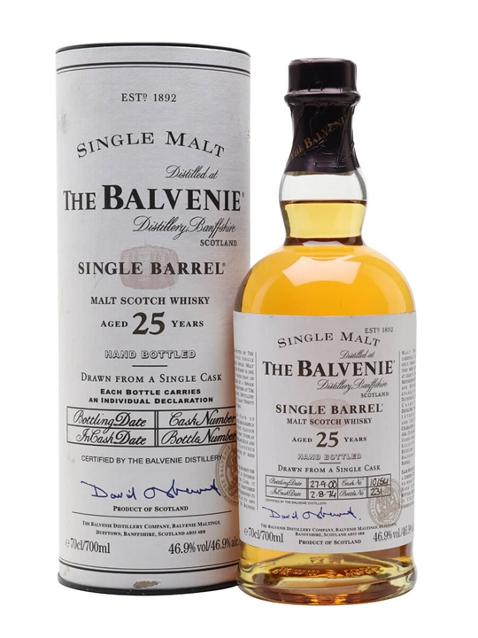 Balvenie 1974 / 25 Year Old / Cask #10154 Speyside Whisky