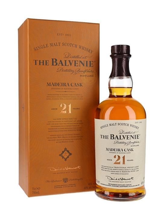 Balvenie 21 Years Old / Madeira Cask Speyside Whisky