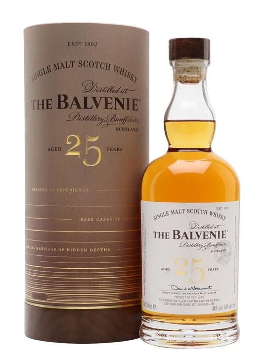 Balvenie 25 Year Old Rare Marriages Speyside Single Malt Scotch Whisky