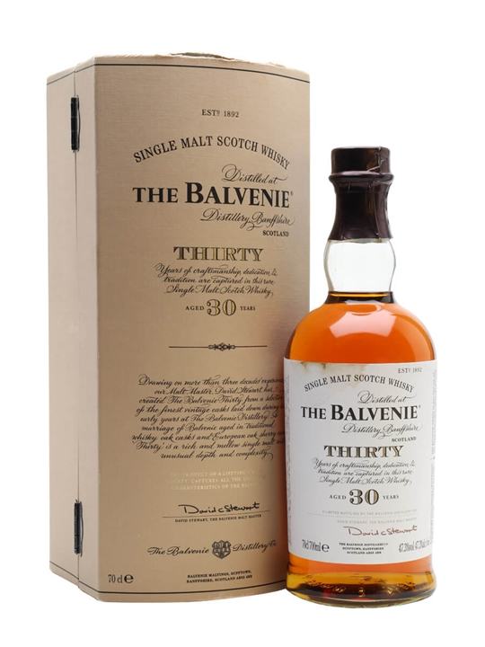 Balvenie 30 Year Old / Old Presentation Speyside Whisky