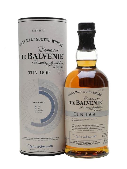 Balvenie Tun 1509 / Batch 2 Speyside Single Malt Scotch Whisky
