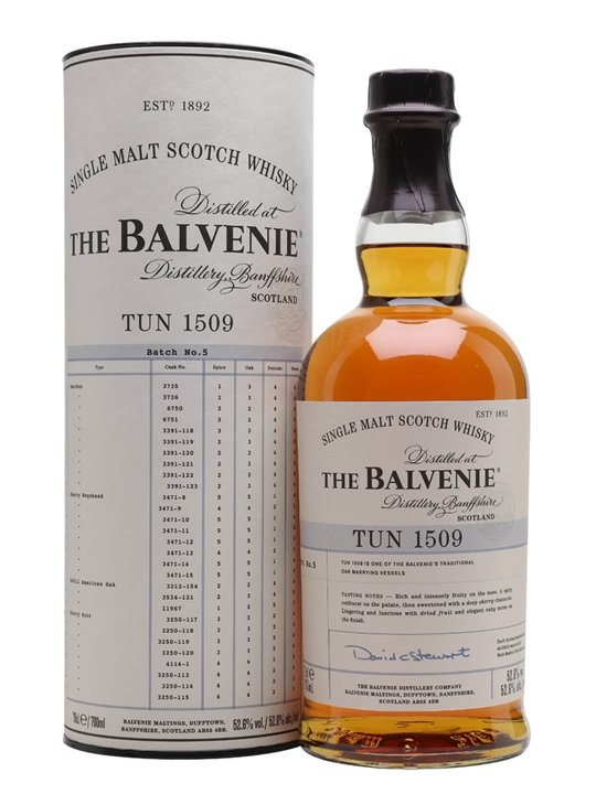 Balvenie Tun 1509 / Batch 5 Speyside Single Malt Scotch Whisky