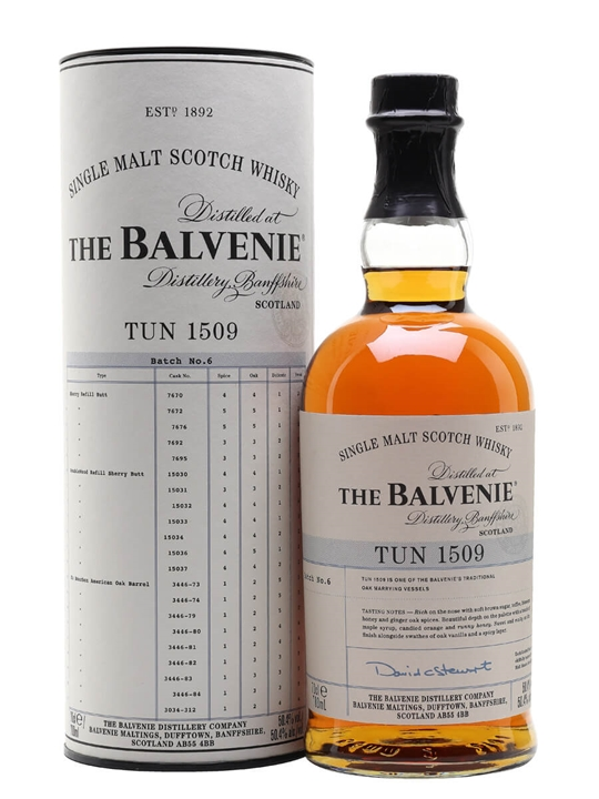 Balvenie Tun 1509 / Batch 6 Speyside Single Malt Scotch Whisky