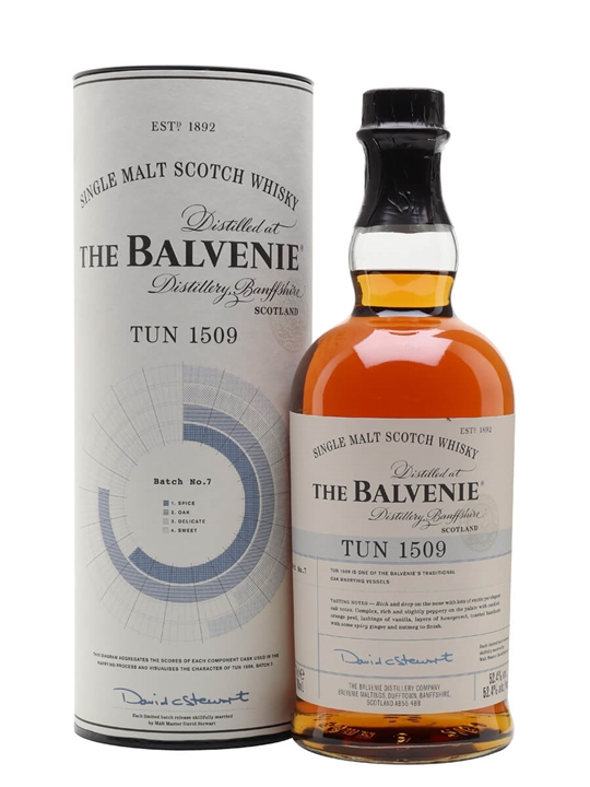 Balvenie Tun 1509 / Batch 7 Speyside Single Malt Scotch Whisky