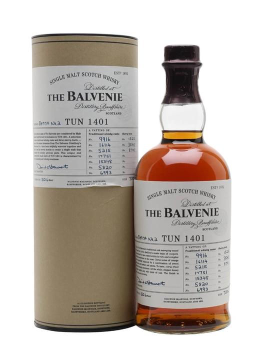 Balvenie Tun 1401 / Batch 2 Speyside Single Malt Scotch Whisky