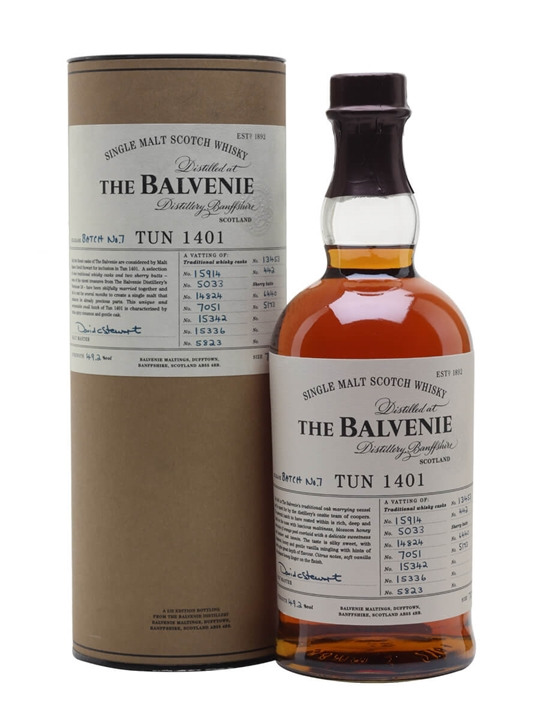 Balvenie Tun 1401 / Batch 7 Speyside Single Malt Scotch Whisky