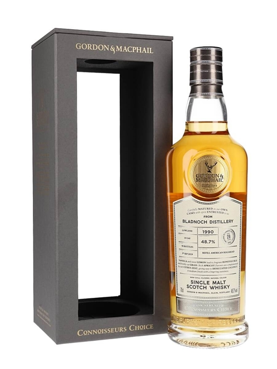 Bladnoch 1990 / 28 Year Old / Connoisseurs Choice Lowland Whisky