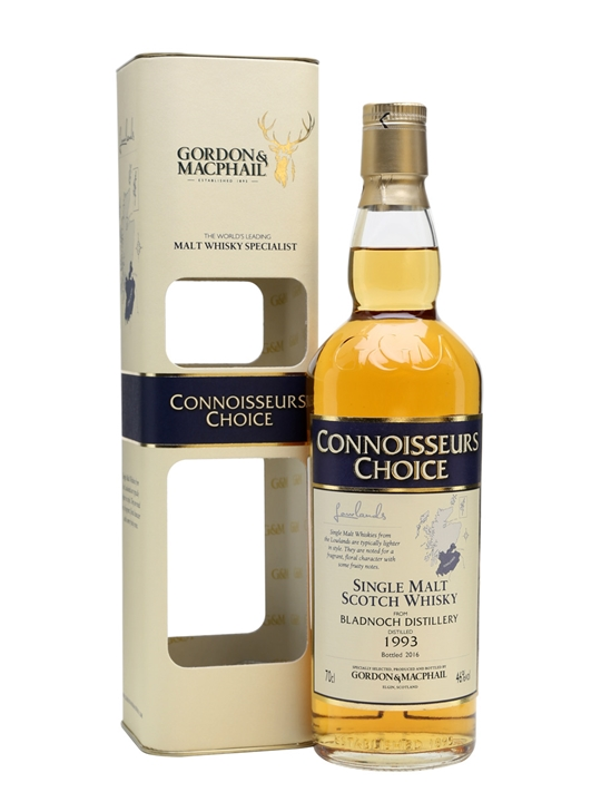 Bladnoch 1993 / Bot.2016 / Connoisseurs Choice Lowland Whisky