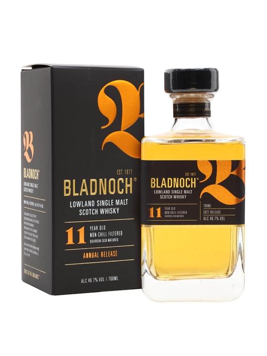 Bladnoch 11 Year Old / 2021 Release Lowland Single Malt Scotch Whisky