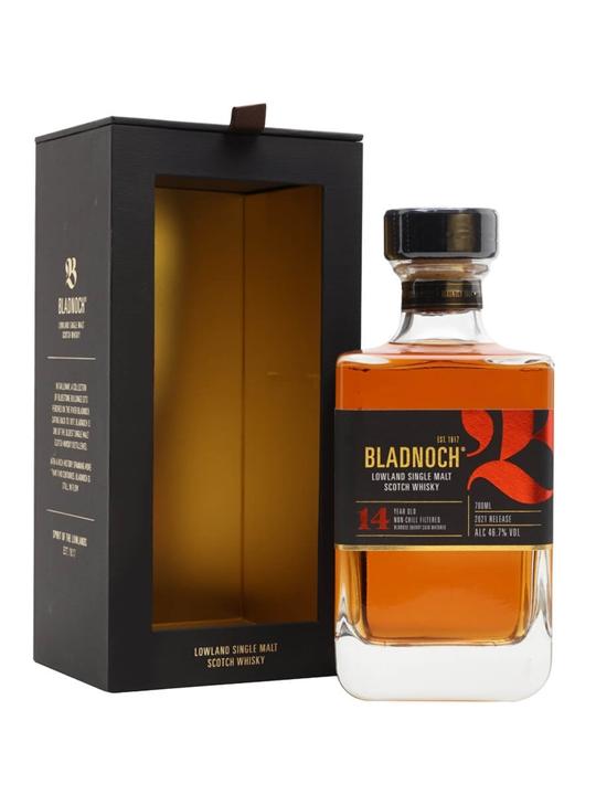 Bladnoch 14 Year Old Lowland Single Malt Scotch Whisky