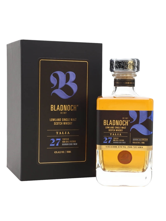 Bladnoch Talia / 27 Year Old / Bourbon Finish Lowland Whisky