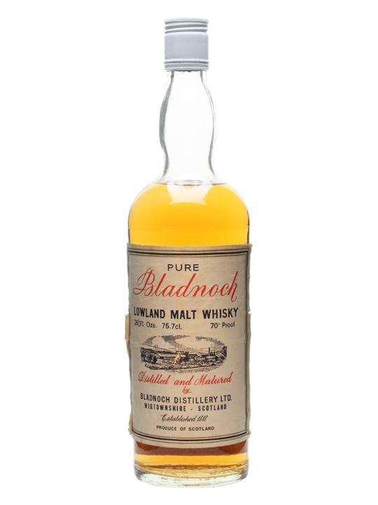 Bladnoch / Bot.1970s Lowland Single Malt Scotch Whisky