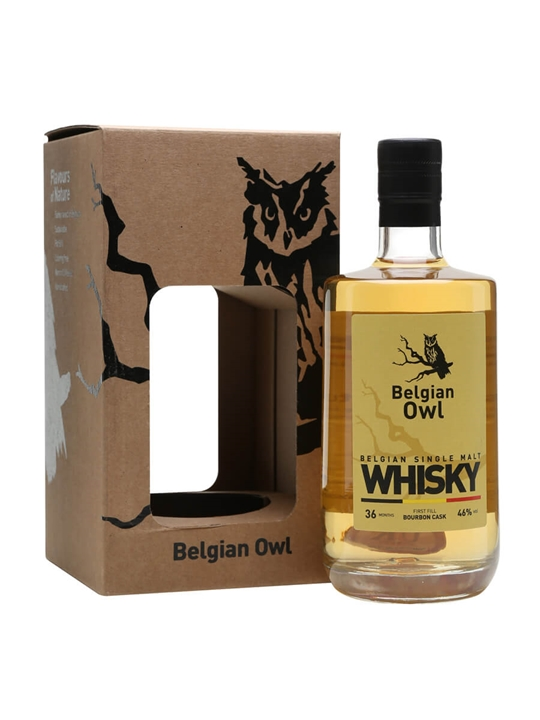 Belgian Owl 3 Year Old Belgian Single Malt Whisky