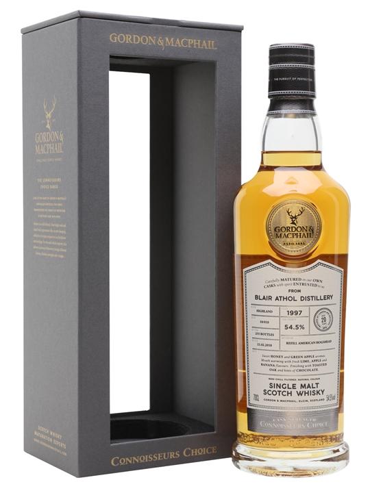 Blair Athol 1997 / 20 Year Old / Connoisseurs Choice Highland Whisky