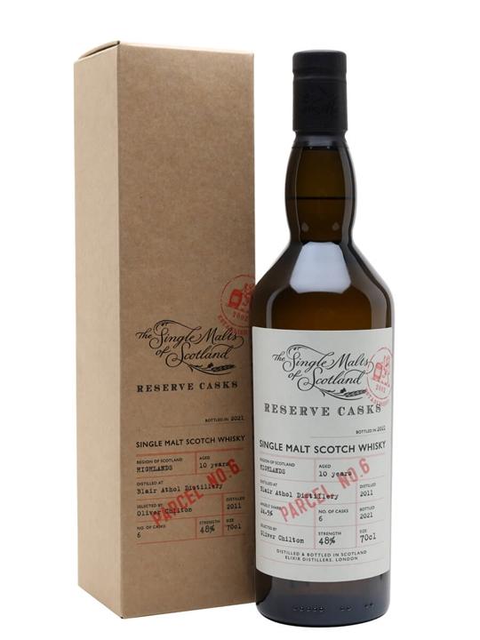 Blair Athol 10 Year Old / Reserve Cask Parcel 6 Highland Whisky