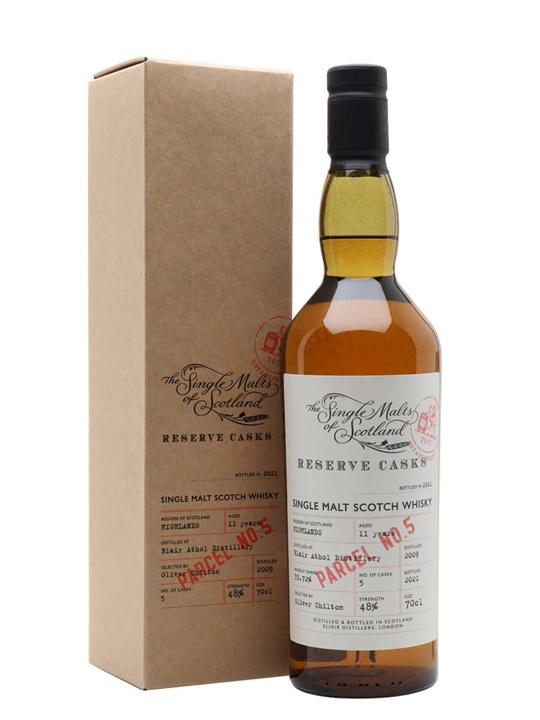 Blair Athol 2009 / 11 Year Old / Reserve Cask Parcel #5 Highland Whisky