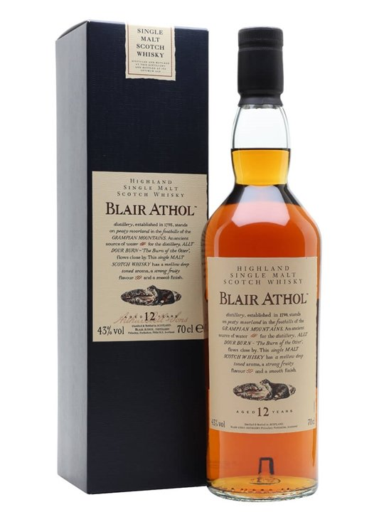 Blair Athol 12 Year Old Highland Single Malt Scotch Whisky