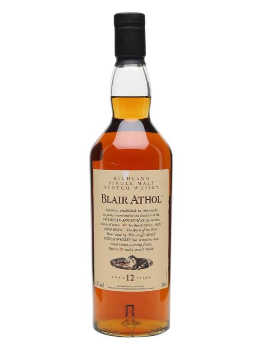 Blair Athol 12 Year Old / Flora & Fauna Highland Whisky