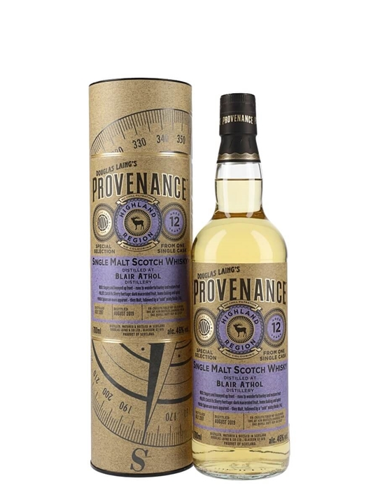 Blair Athol 2007 / 12 Year Old / Provenance Highland Whisky
