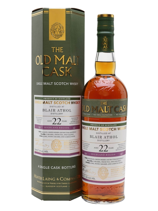 Blair Athol 1995 / 22 Year Old / Old Malt Cask Highland Whisky