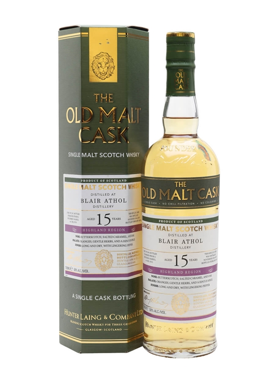 Blair Athol 2004 / 15 Year Old / Old Malt Cask Highland Whisky
