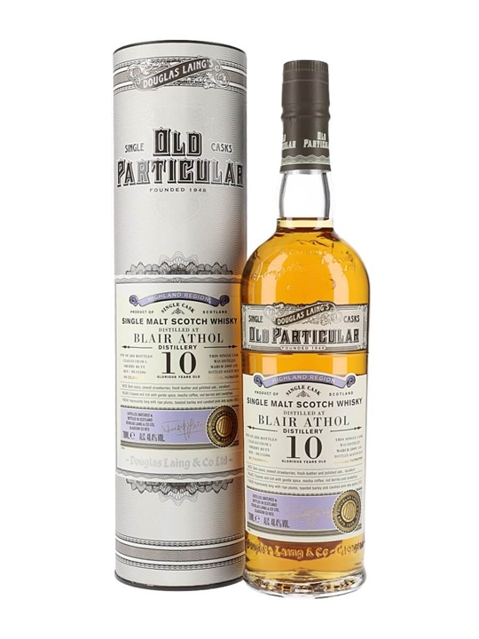 Blair Athol 2009 / 10 Year Old / Sherry Matured / Op Highland Whisky