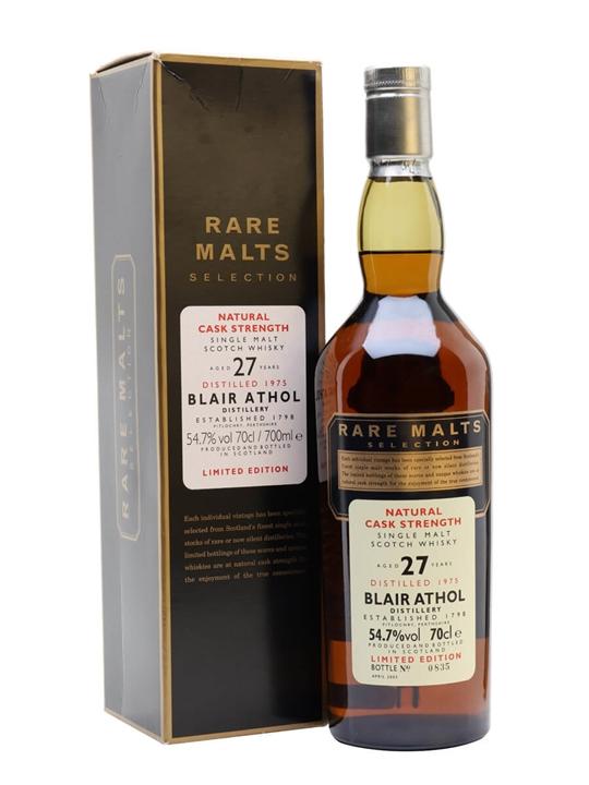Blair Athol 1975 / 27 Year Old / Rare Malts Highland Whisky