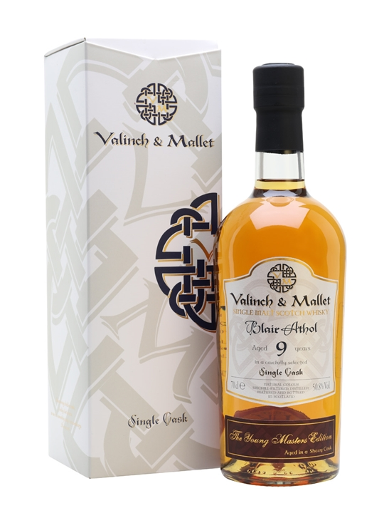 Blair Athol / 9 Year Old / Valinch & Mallet Highland Whisky
