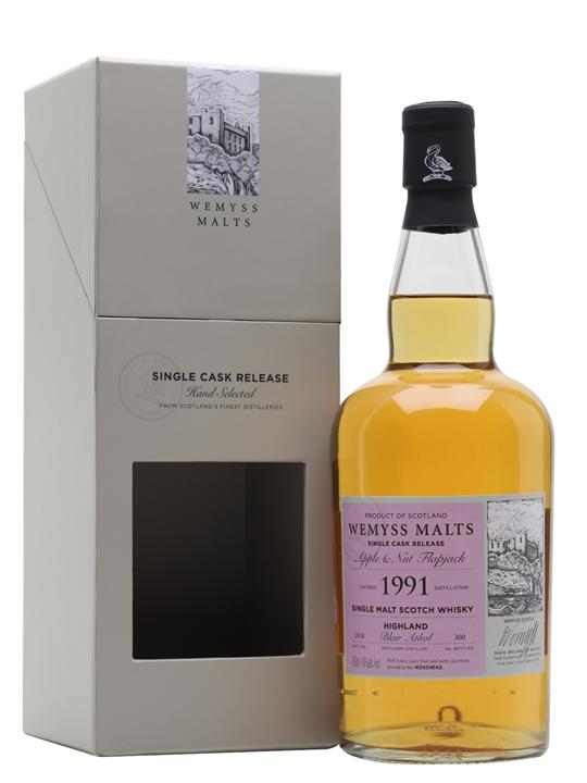 Blair Athol 1991 / Apple & Nut Flapjack / Wemyss Highland Whisky