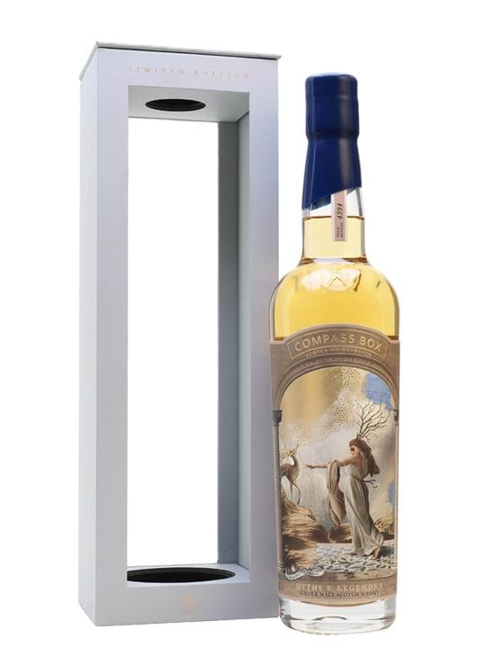 Compass Box Myths and Legends I Highland Single Malt Scotch Whisky