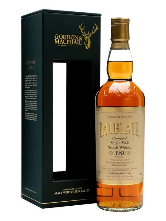 Balblair 1980 / Bot. 2013 / Gordon & Macphail Highland Whisky