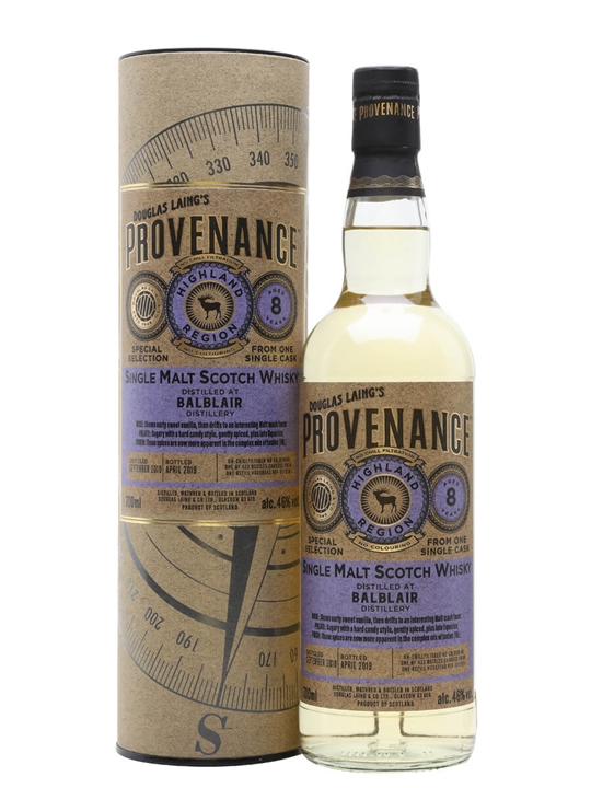 Balblair 2010 / 8 Year Old / Provenance Highland Whisky