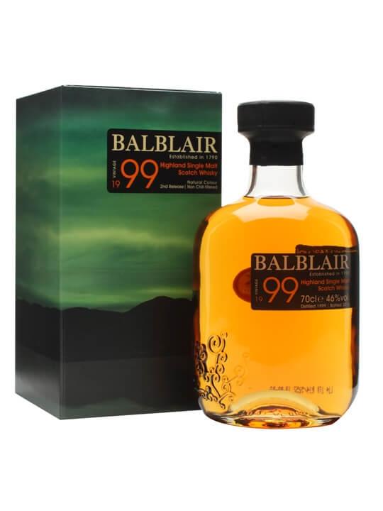 Balblair 1999 / 2nd Release Highland Single Malt Scotch Whisky