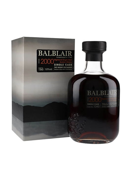 Balblair 2000 / Sherry Cask #1343 / Twe Exclusive Highland Whisky