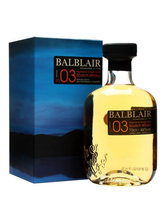 Balblair 2003 Highland Single Malt Scotch Whisky
