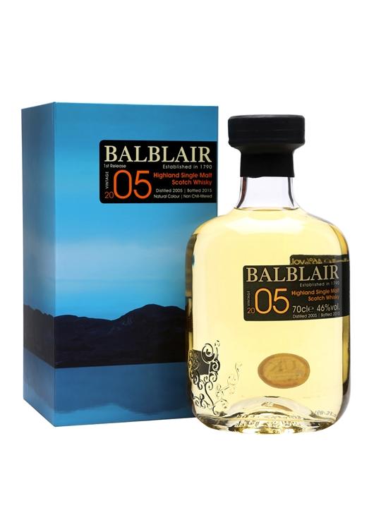 Balblair 2005 / Bot.2015 Highland Single Malt Scotch Whisky