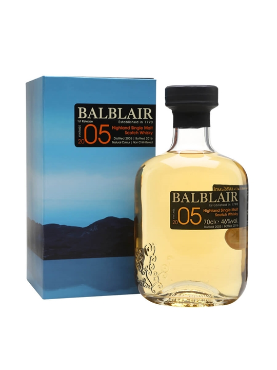 Balblair 2005 / Bot.2016 Highland Single Malt Scotch Whisky