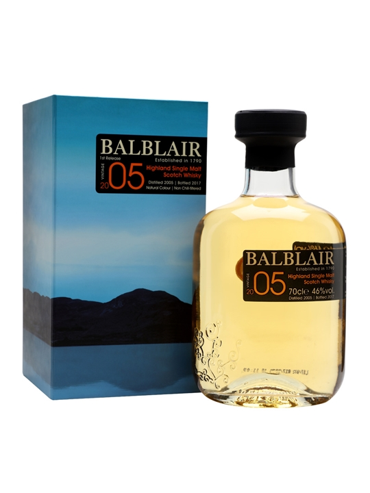 Balblair 2005 / Bot.2017 Highland Single Malt Scotch Whisky