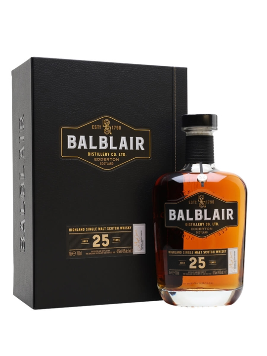 Balblair 25 Year Old Highland Single Malt Scotch Whisky