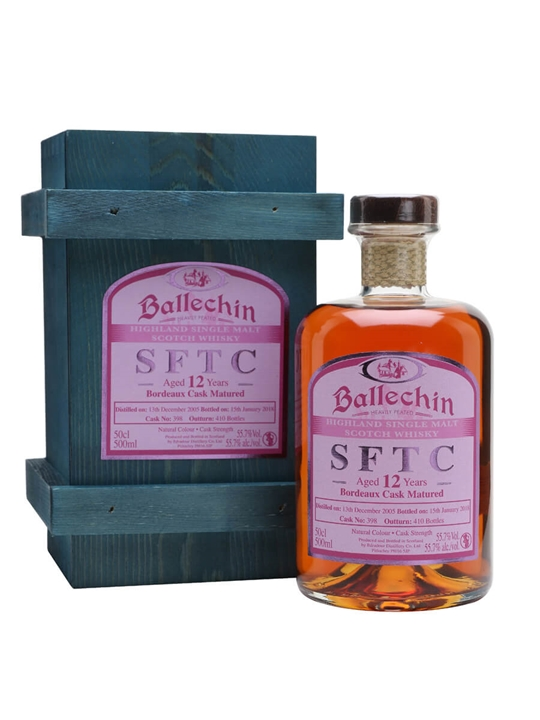 Ballechin 2005 / 12 Year Old / Bordeaux Cask Highland Whisky