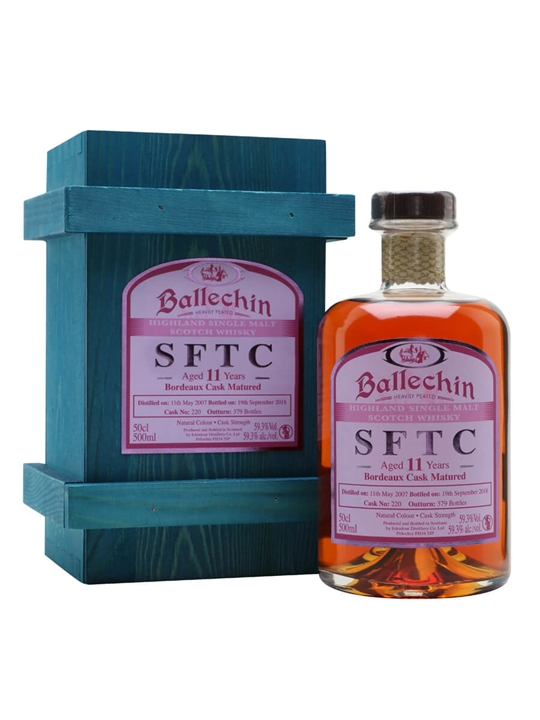 Ballechin 2007 / 11 Year Old / Bordeaux Cask Highland Whisky