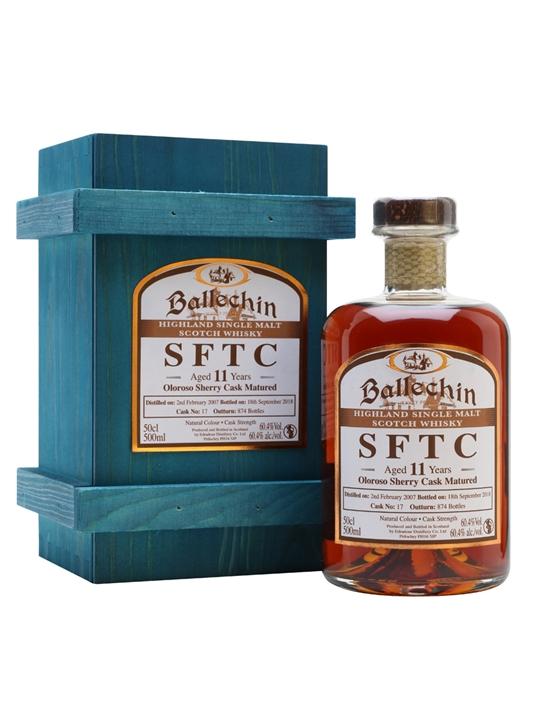 Ballechin 2007 / 11 Year Old / Sherry Cask Highland Whisky