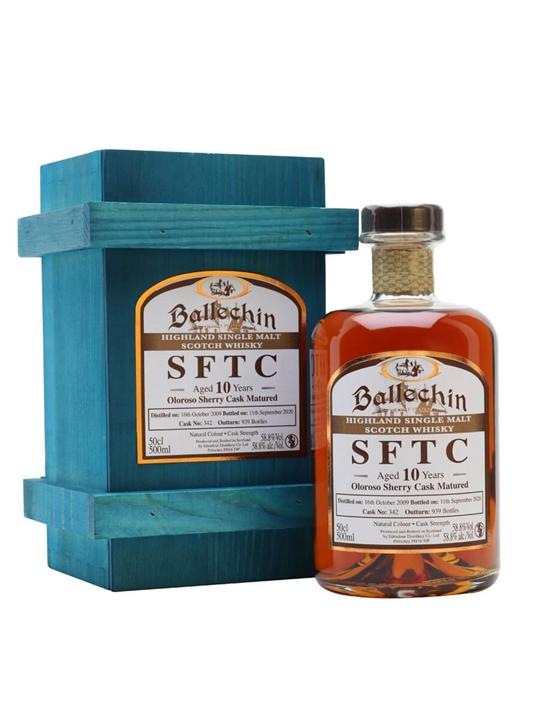 Ballechin 2009 / 10 Year Old / Oloroso Sherry Cask Highland Whisky