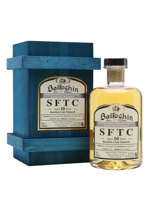 Ballechin 2010 / 10 Year Old / Bourbon Cask Highland Whisky