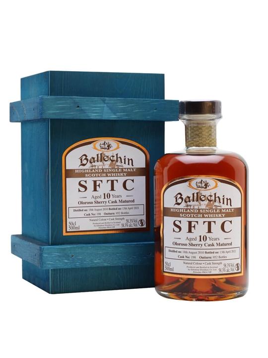Ballechin 2010 / 10 Year Old / Oloroso Sherry Cask Highland Whisky