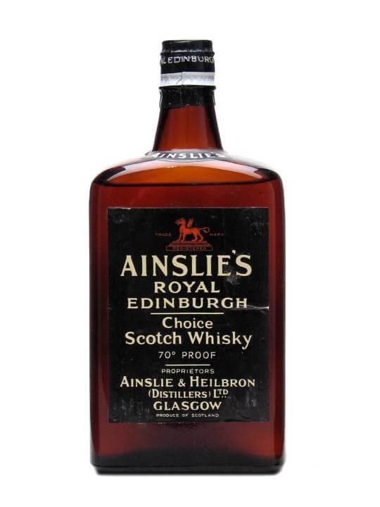 Ainslie's Royal Edinburgh / Bot.1960s Blended Scotch Whisky