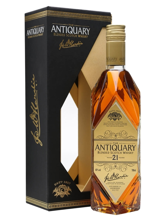 Antiquary 21 Year Old / Gold Box Blended Scotch Whisky