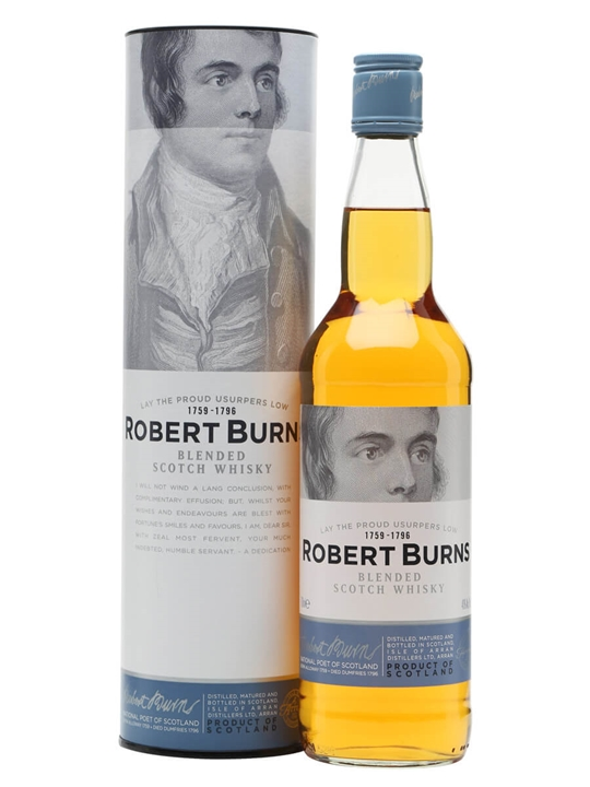 Robert Burns Blend / Arran Blended Scotch Whisky